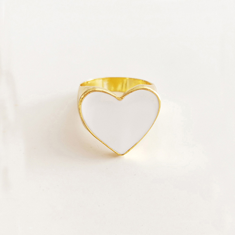 19 New Arrivals Must Have Vintage Gold Color Red Heart Rings For Women Minimalist Party Knuckle Rings Size 7 8