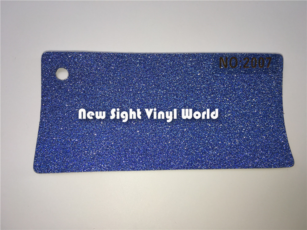 Blue Bling Glitter Diamond Vinyl Wrap Skin Cover For Mobile Phone PAD Size:1mX30m/Roll(3.3ft X 98ft)