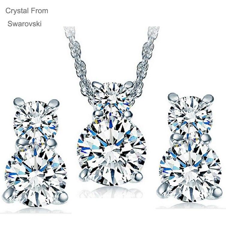 Buy crystal from swarovski jewelry set for Swarovski jewelry online store