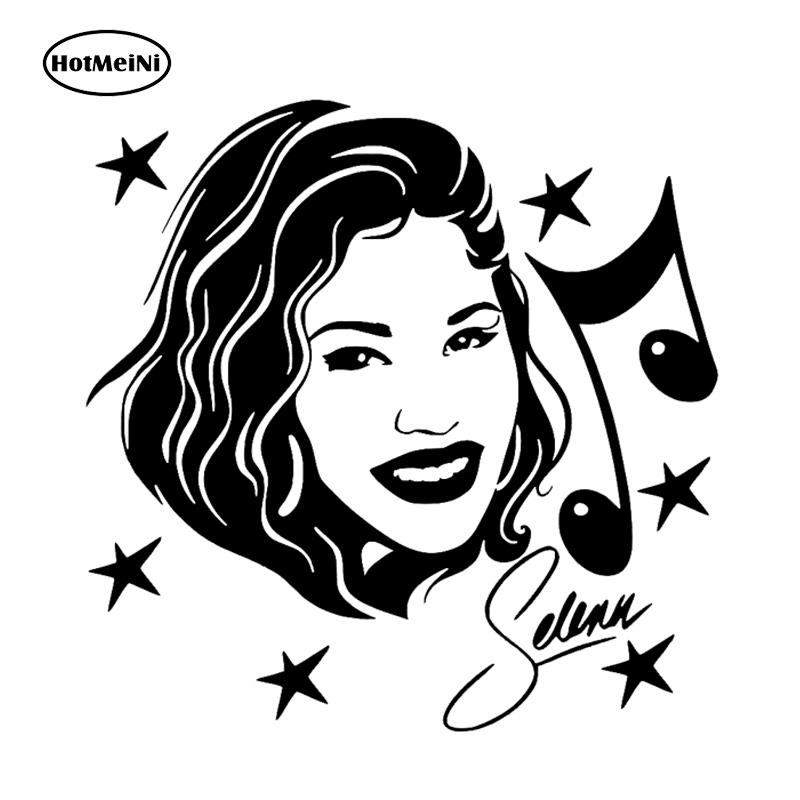 Hotmeini 13x13cm Selena Quintanilla Vinyl Decal Car