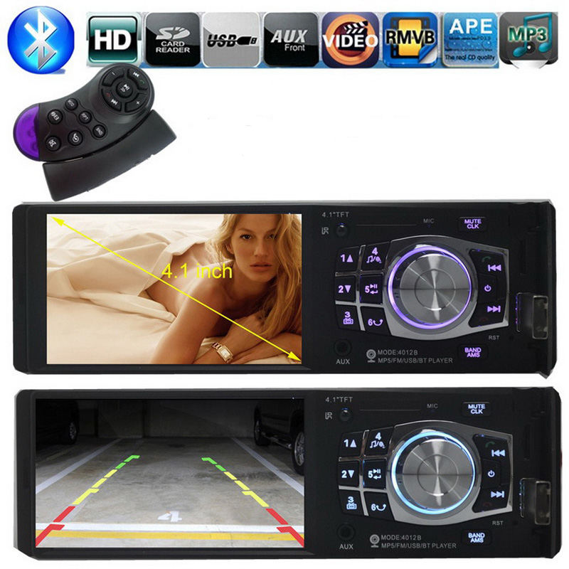 NEW 3.6 inch TFT screen Support Rear Camera Car radio Bluetooth player car audio Stereo MP5 movie MP4 12V Video FM USB/SD/MMC 2015 new support rear camera car stereo mp3 mp4 player 12v car audio video mp5 bluetooth hands free usb tft mmc remote control