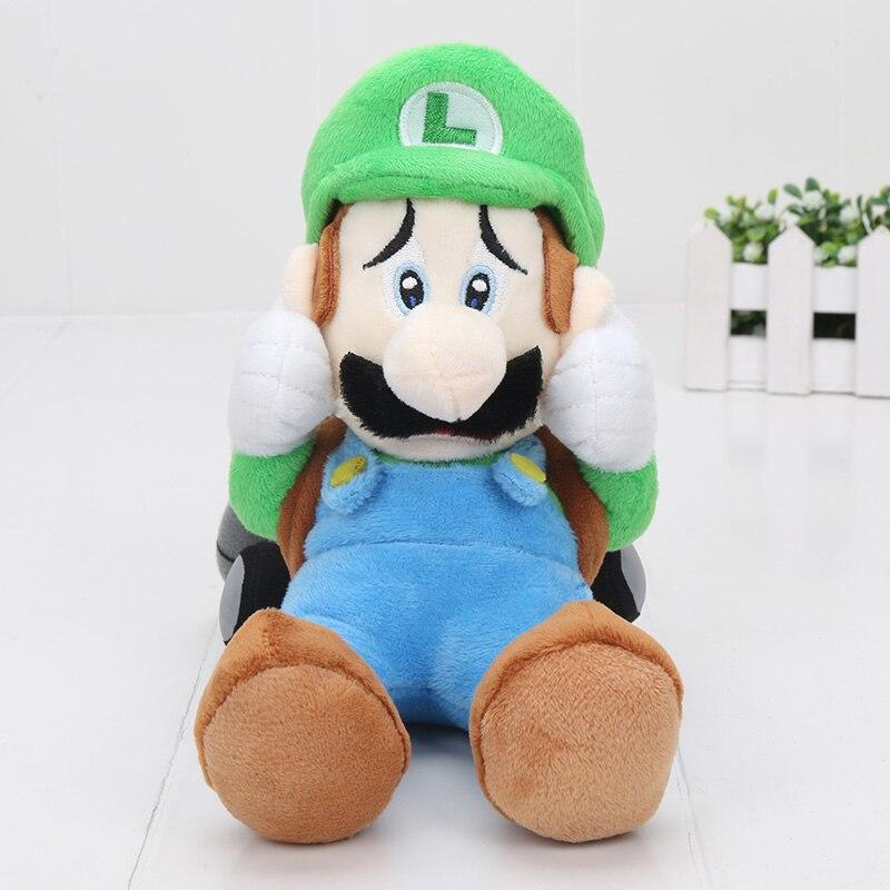 22cm 9inches Super Mario Bros Luigi Mansion 2 plush font b toy b font plush doll