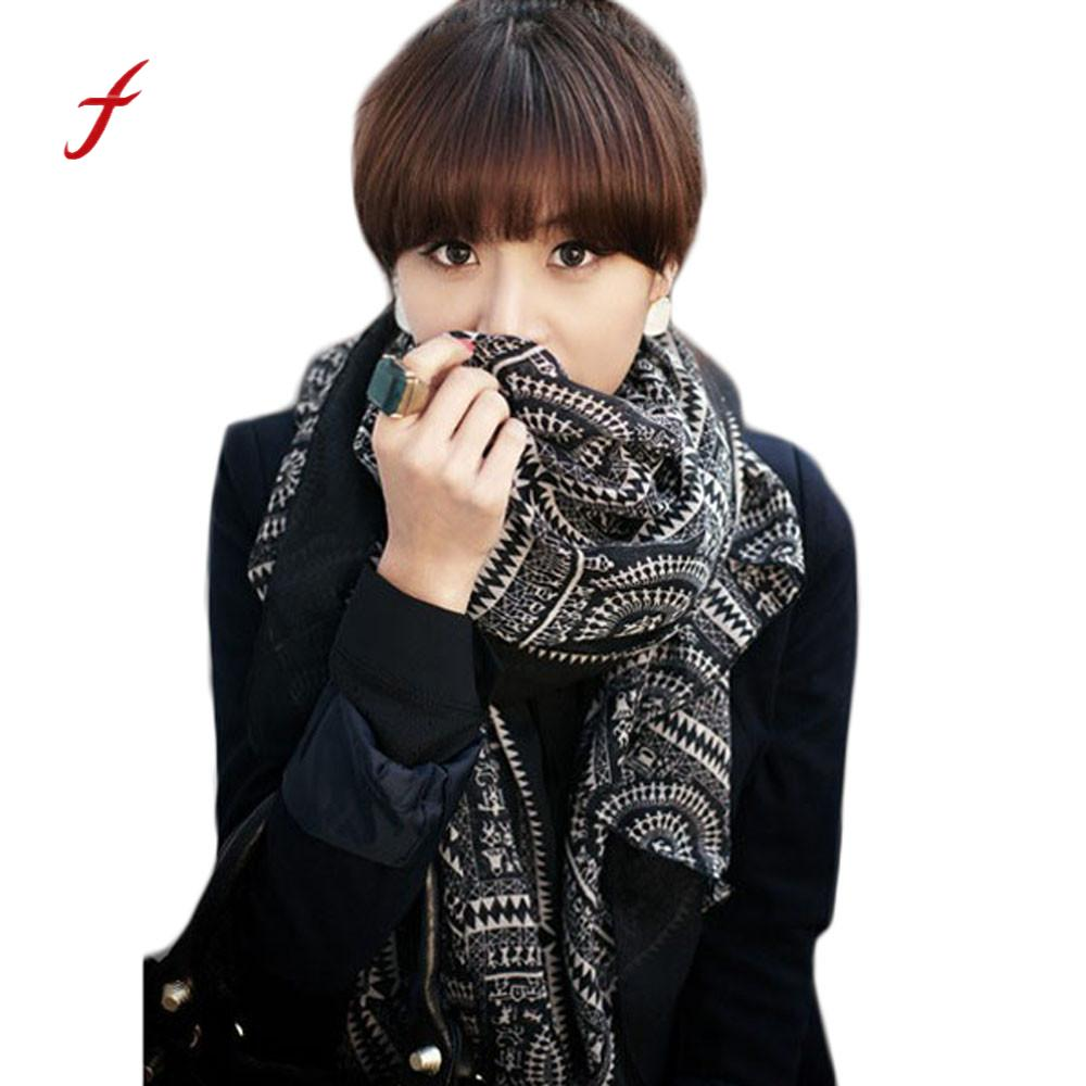 FEITONG Female scarf Lady Women Vintage s