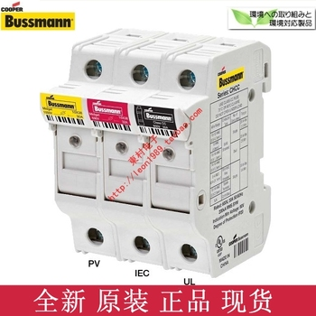 [SA]US imports bussmann CH142D CH144D fuse holder fuse holder 10 & amp; times; 38mm