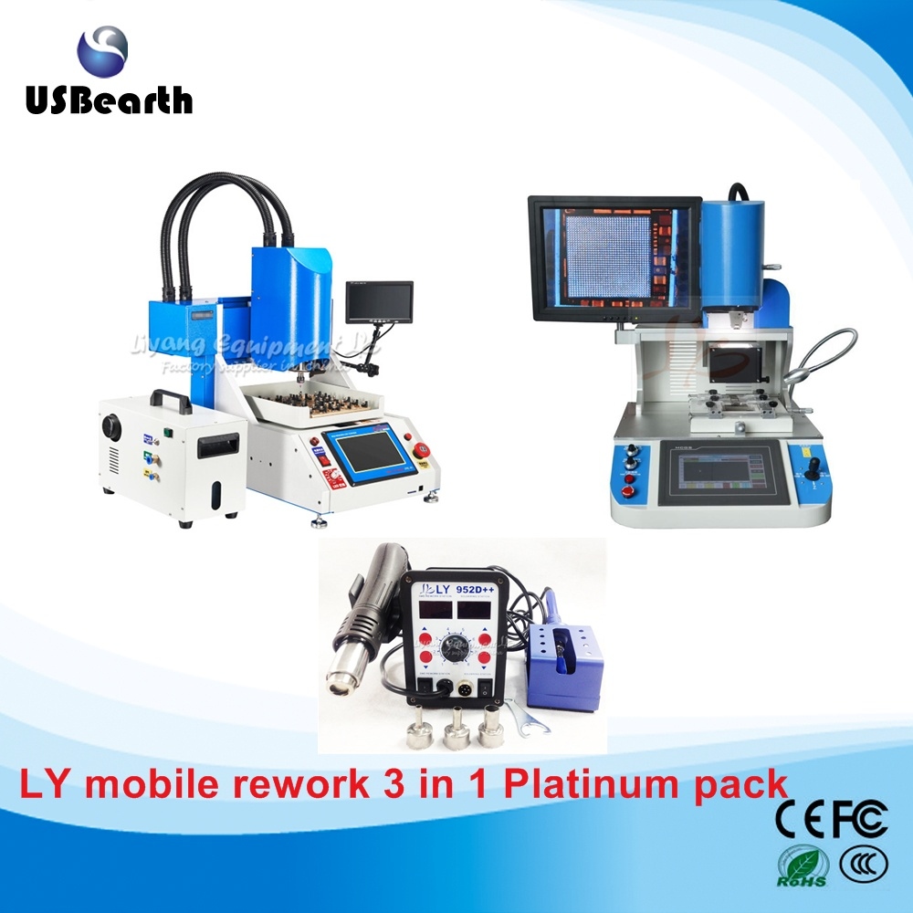 ly-mobile-motherboard-rework-3-in-1-platinum-pack-ly-1001-ic-router-ly-5300-align-rework-station-ly-952d-smd-soldering-station