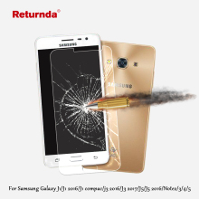 9H 2.5D 0.3mm Premium Tempered Glass For Samsung Galaxy j5 j3 J1 2016 J1 compact J3 2017 Note 2 3 4 5 film Screen Protector