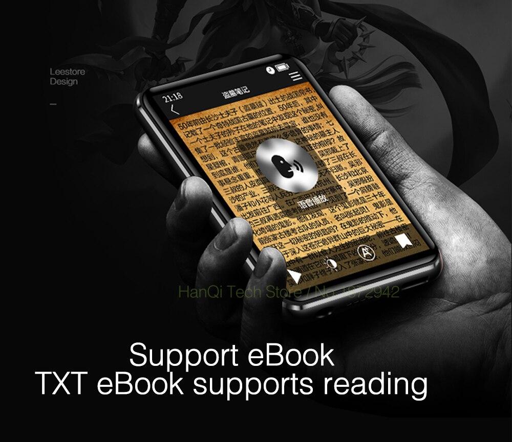 x6 touch screen mp3 com leitor de