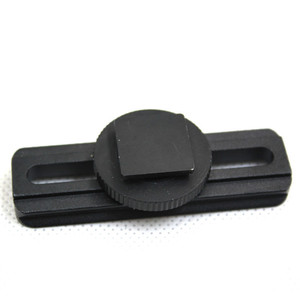 Image 5 - Aluminum 21mm rail Mount fit red dot sight scope Hot Shoe Adapter for C anon for Nikon DSLR Camera Bird Photograph hunting