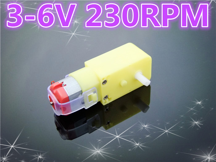 K250B DC 3-6V 230RPM Mini Plastic Electric Reduction DC Gear Motor DIY Car Robot Engine Toys Parts Sell At A Loss USA Belarus