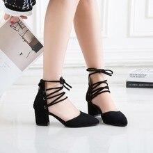Большие размеры 11, 12, 13, 14, 15, босоножки на высоком каблуке Женская обувь женские летние римские сандалии с перекрестными ремешками