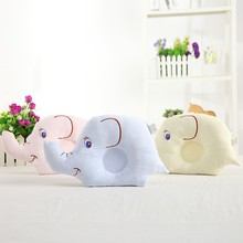 0-24M Newborn Baby Pillow Flat Head Sleeping Positioner Support Cushion Prevent Bebe Elephant Styling Pillow Gift Deco Room