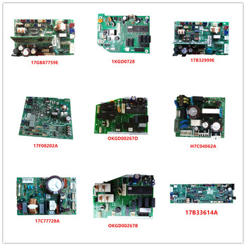 17GB87759E| 1KGD0728| 17B32999E| 17F08202A| 0KGD00267D| 0KGD00267B| H7C04062A| 17C77728A PI012-A3| 17B33614A Used Good Working