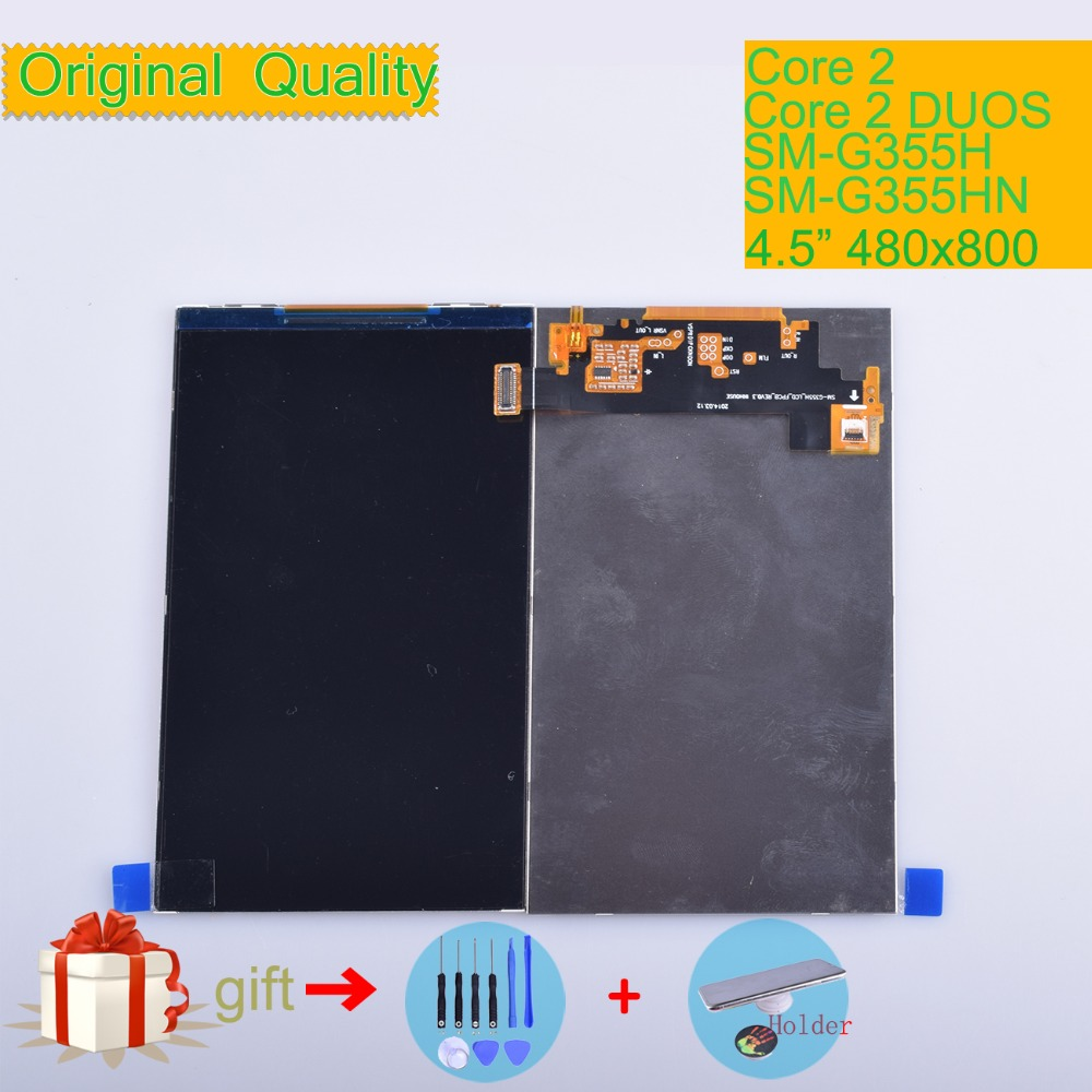 ORIGINAL LCD For Samsung Galaxy Core 2 SM-<font><b>G355H</b></font> <font><b>G355H</b></font> G355 LCD <font><b>Display</b></font> Screen SM G355 <font><b>Display</b></font> Screen LCD Replacement SM-G355HN image