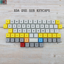 IDOBAO 40 Mechanical Keyboard Xda Keycaps Profile Dye Sub PBT 64 Keys For Cherry Mx Mini 60% Kit Gamer keypad