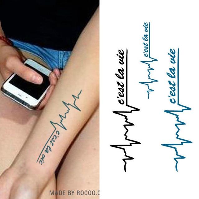 10 Teilelos Henna Tattoo Schablone Frauen Körperkunst Farbe Herz
