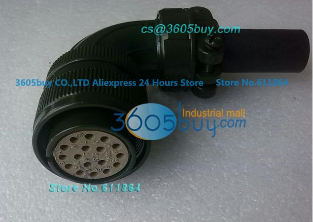 Ac Connector Encoder Connector Power Cable 5 Meters