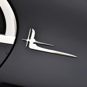 Image 4 - 2 pcs 3D Car Sticker Emblem Badge for Universal Car Moto Bike Decorative Accessories ornament decal interior styling moulding