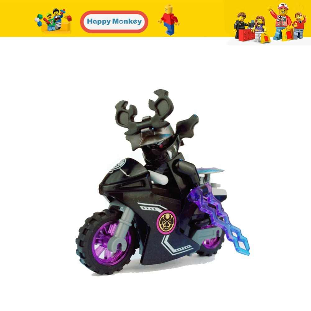 Brinquedos para as crianças Ninjago Garmadon legoingly Mavel Estrela Yoda Yoda de Star Wars Léia X homem Inverno Quente Soldado Figuras Spiderman zk20