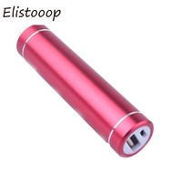 Elistooop External Battery Storage Case  Power Bank Suit 18650 Batteries USB 5V 1A DIY Case Box Store for Cell Phones for MP3