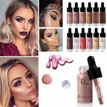 Profession Face Illuminator Makeup Liquid Highlighter Countour Glow Shimmer Shiny Bronzer Long Lasting Brighten Face Highlighter