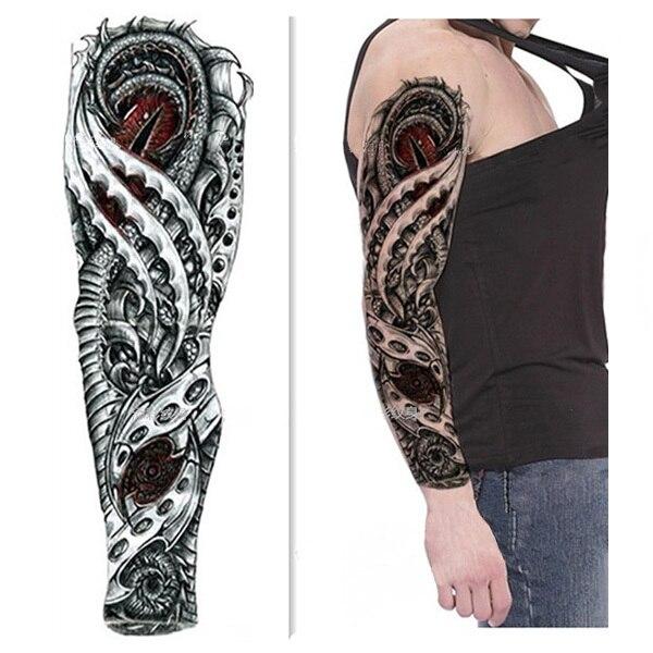Expendables Más Grande Tatuaje Temporal Brazo Completo Etiqueta
