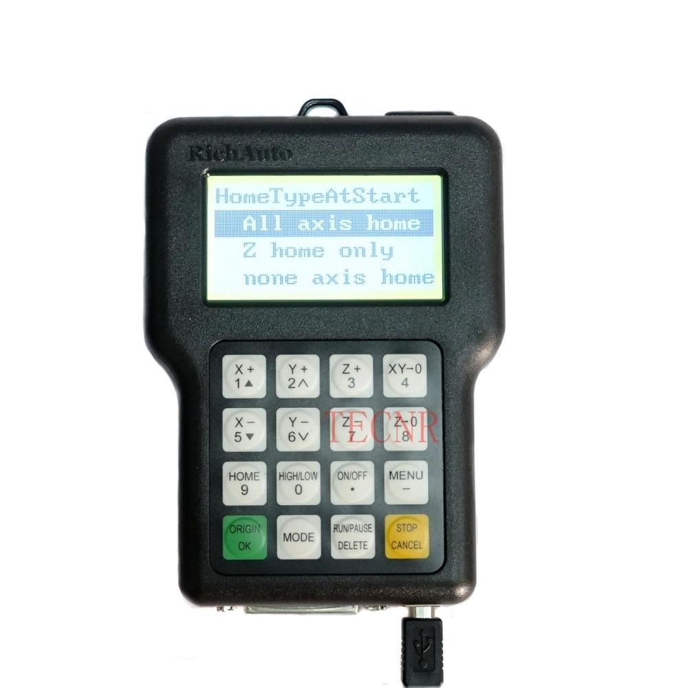RichAuto DSP A11 Controllore CNC A11S A11E Telecomando a 3 assi - Parti di macchine per la lavorazione del legno - Fotografia 6