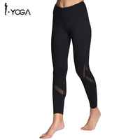 Wholesale MeshYoga Pants Fitness Yoga Leggings Push Up Running Sport Tights Women Workout Yoga Clothing Cheap