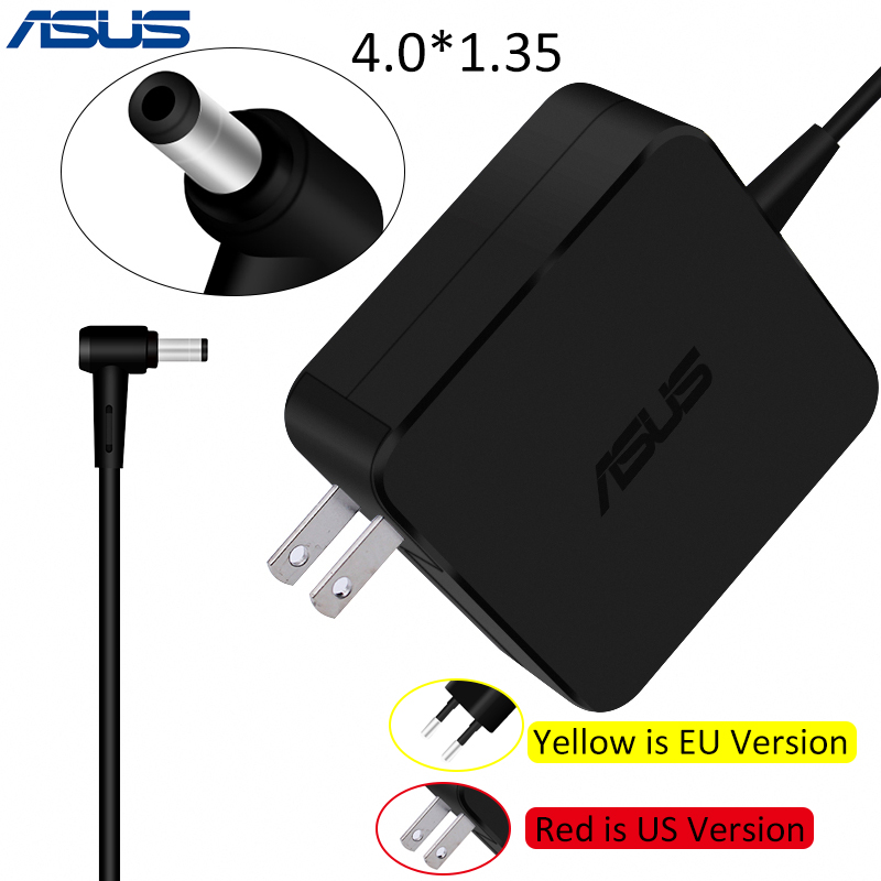 ASUS 19 v 2.37A 4,0*1,35mm AC Laptop Power Adapter Reise Ladegerät Für Asus Zenbook UX305 UX21A UX32A serie Taichi 21 ADP-45AW EIN
