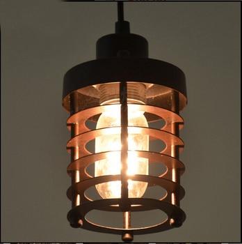 Nordic Loft Industriële Wind Amerikaanse land koord hanger lamp droplight Edison ijzeren vintage hanger verlichting