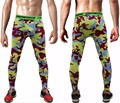 2016 camouflage pants  fitness joggers compression tights long pants  Leggings Men  Wear