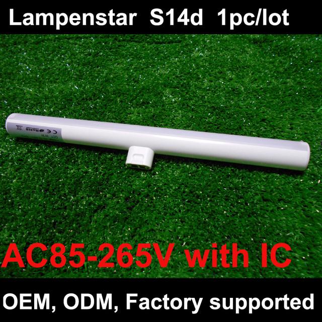 S14d diodo emissor de luz 3 w 6 w 10 w 12 w 300mm 500mm substituição direta osram linestra s14s conduziu a lâmpada do bulbo ce rohs