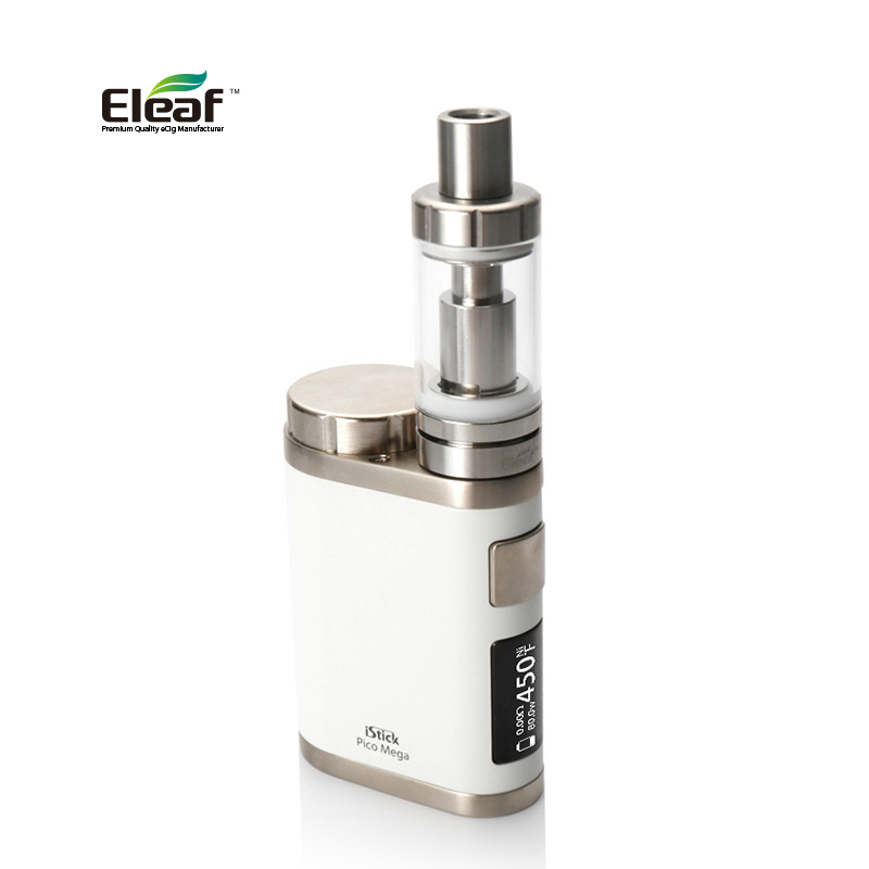 Original Electronic Cigarette Eleaf iStick Pico Mega TC Kit 80W Pico Mega Box Mod E Vape 4ml ...