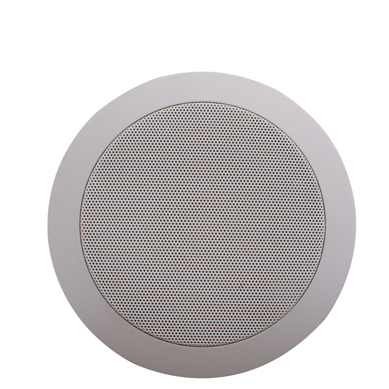 ФОТО Top Selling 5Inch/6Inch For Bluetooth Ceiling Speaker TH831TS Home Theater Mini Altavoz White Wireless Stereo Bluetooth Speakers