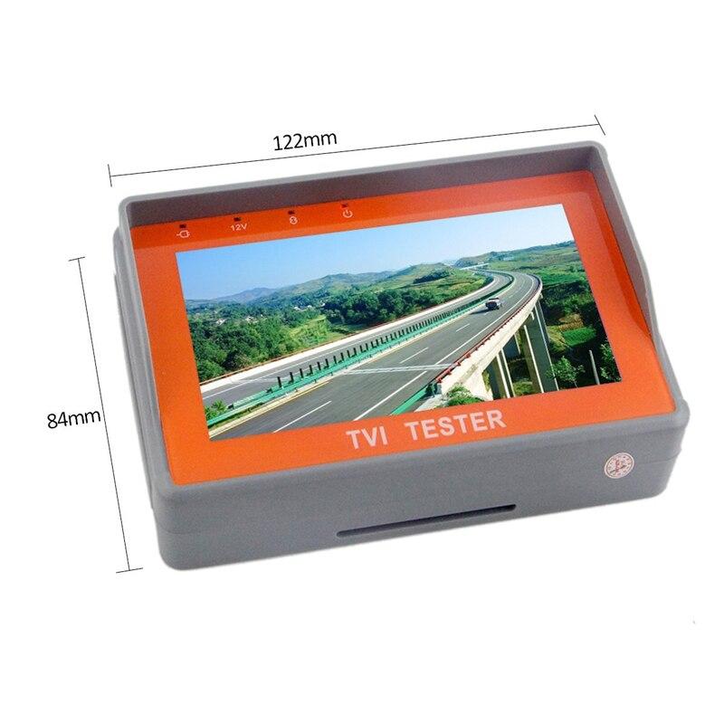 Portable Wrist 4.3Display TVI HD Monitor Tester CCTV HD-TVI Camera Tester 960P 1080P Analog Video Camera Audio Test 12V-Out