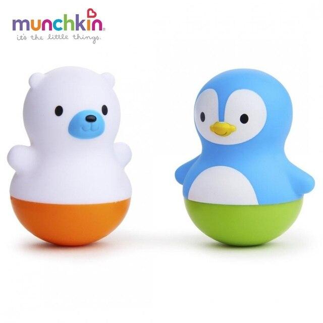 Игрушка для ванны Munchkin поплавки Медведь и Пингвин от 6 мес