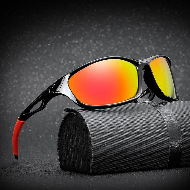 961acbab910 Polarized Sport Sunglasses Polaroid sun glasses Goggles UV400 sunglasses  for men women Eyewear De Sol Feminino