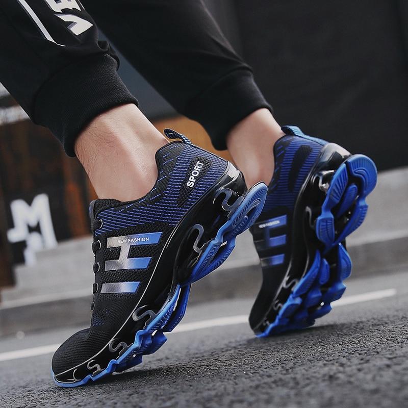 Big Size 36 46 Men Women Running Shoes Outdoor Breathable Jogging Sport blade Shoes For Men's krasovki Walking Sneakers
