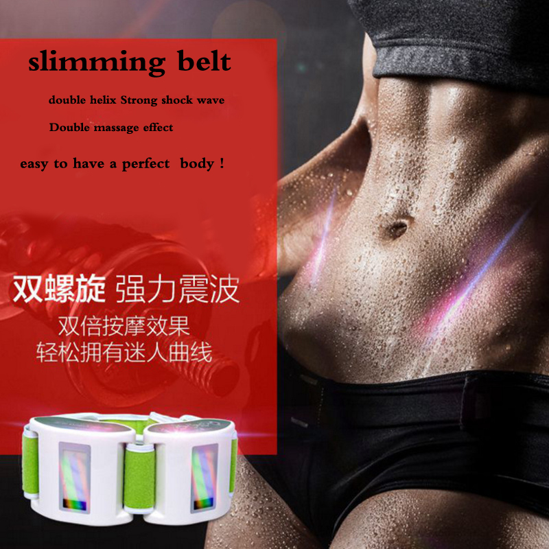 slimming Belt body Electric Vibrating Sculpting fat burning Thin Waist Belly Rejection weight-loss massager machine
