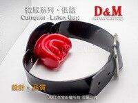 (DM1624)Top quality latex gag fetish accessory equipment