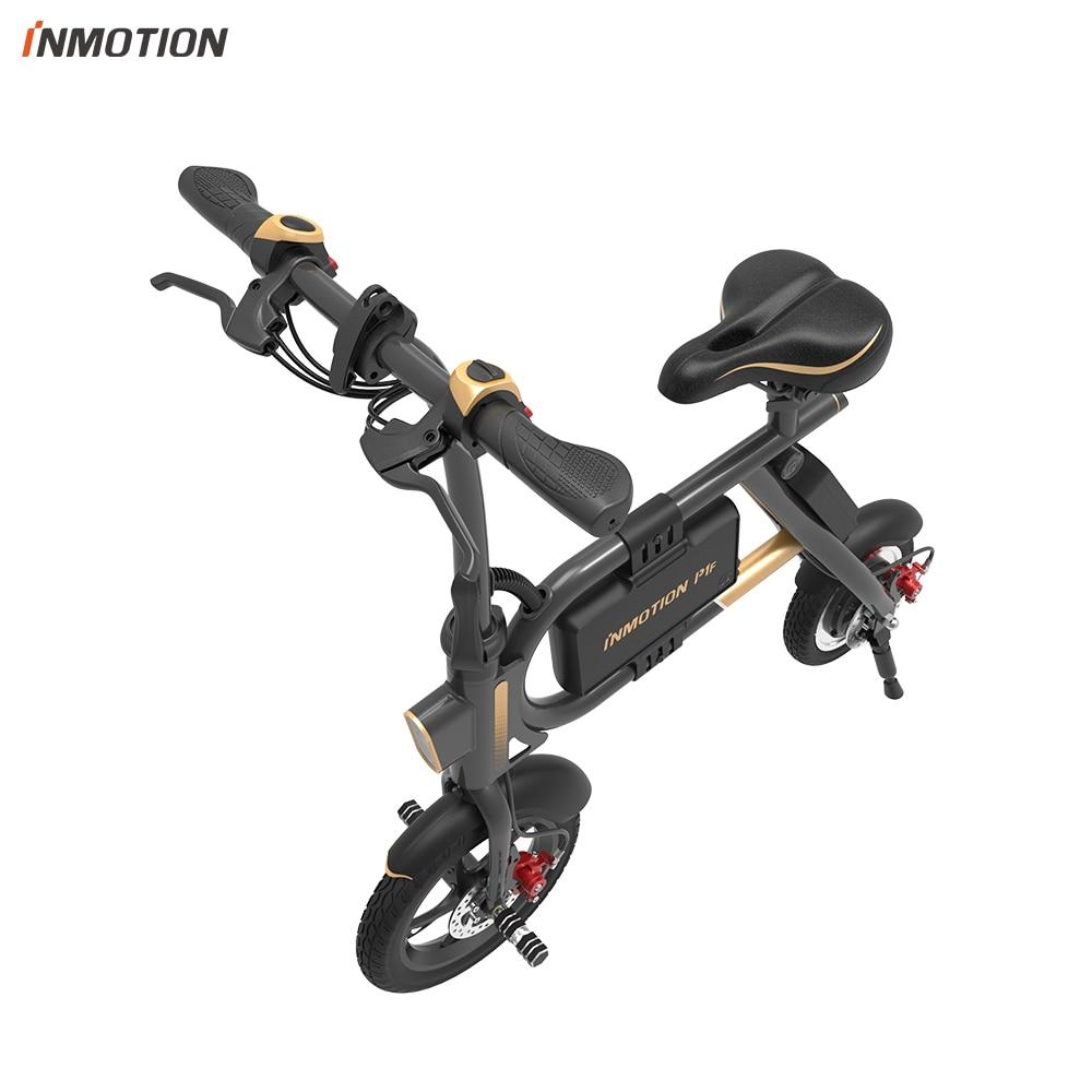 INMOTION E-BIKE P1F Pliant Électrique Scooter Mini Style IP54 APP Soutenu 30 km/h Électronique Vélo