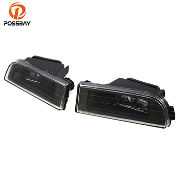POPSSBAY Fog Lights for BMW E38 7-Serise 1995-2001 Car Replacement Front Lower Bumper Fog Lamps Clear Lens Housing