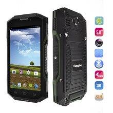 """Vorlage Huadoo V4 MTK6582 Quad Core IP68 Robuste, Wasserdichte Handy Android 4.4 5,0 """"OGS Bildschirm Gorilla Glas 3G GPS NFC"""