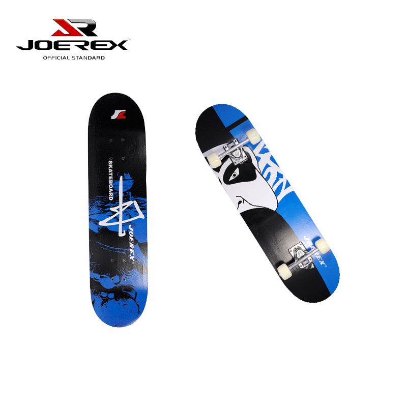 Joerex Professional Zhong China Maple 4 Wheels Double Rocker Skateboard 31 Inch Cruiser Long Skate Board