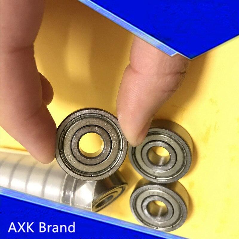10pcs Free shipping 628ZZ ABEC5 8x24x8mm miniature deep groove ball bearing 8*24*8mm 628 zz 10 5 8 5 24 871580