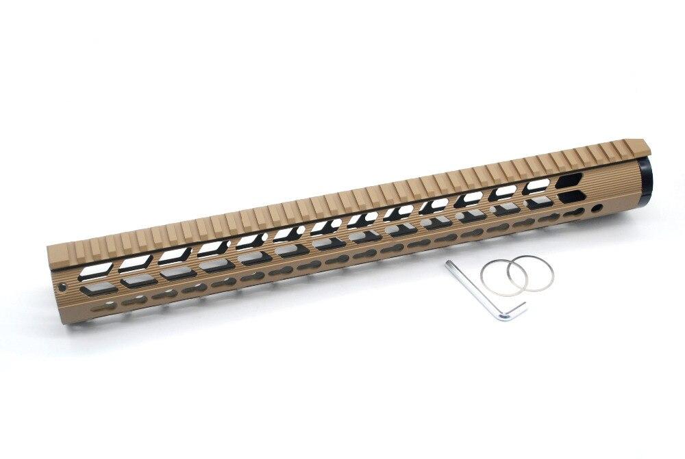 Support de portée de bâti de Rail de Picatinny de garde de main de Style de profil bas de 17 pouces adapté à l'équipement tactique AR10/LR-308