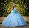 Real imagem 2017 vestidos quinceanera vestido de baile pedrinhas sweet 16 ano da princesa vestidos para crianças de 15 anos vestidos de 15 años