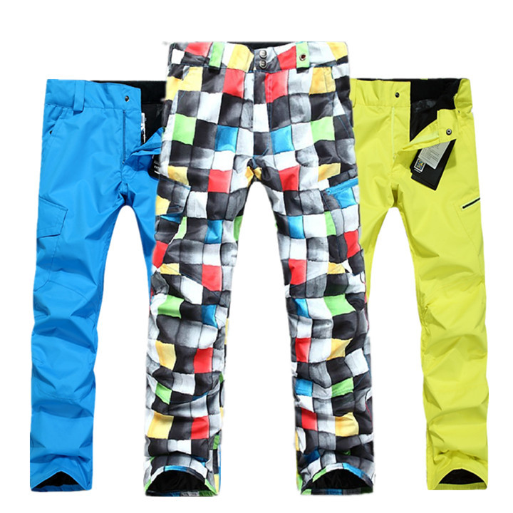 Hot!!! New 2016 high qualtiy Gsou snow skiing pants monoboard Men skiing pants windproof waterproof thermal pants ...