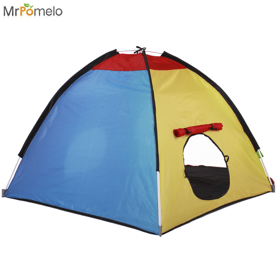 MrPomelo Children Pop Up Play Tent Indoor Outdoor Beach Tent Sun Shelter 2 Kids Play House with Window Multi Color Easy Assembly-in Toy Tents from Toys ...  sc 1 st  AliExpress.com & MrPomelo Children Pop Up Play Tent Indoor Outdoor Beach Tent Sun ...