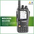 Оригинал WOUXUN KG-UV9D Handheld Двухстороннее Радио с Двойной Полосы Пропускания Семь Приема УКВ и УВЧ Портативный Wakie Talkie