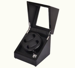 WRTOR Single high gloss wooden automatic watch winder